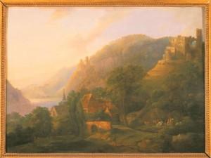 Georg Schneider: Die Landschaft an der Clemenskirche, um 1795.
